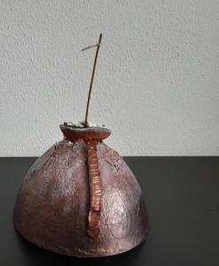 Object van kartonnen cup
